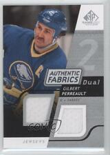 2008-09 SP Game Used Edition Authentic Fabrics Dual AF-GP Gilbert Perreault Card