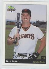 1991 Classic Best San Jose Giants #29 Joey James Francisco Rookie Baseball Card