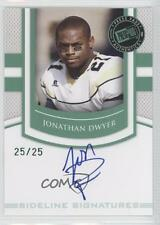 2010 Press Pass Portrait Edition #SS-JD Jonathan Dwyer Pittsburgh Steelers Auto