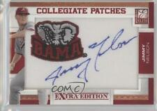 2010 Donruss Elite Extra Edition #JN Jimmy Nelson Alabama Crimson Tide Auto Card