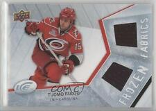 2008-09 Upper Deck Ice Frozen Fabrics #TR Tuomo Ruutu Carolina Hurricanes Card