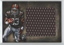 2012 Topps Inception Rookie Jumbo Relics Gold #JR-TR Trent Richardson Card
