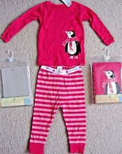 BRAND NEW BABY GAP GIRLS LONG SLEEVE TOP AND PANTS PAJAMA SET PINK/LILAC