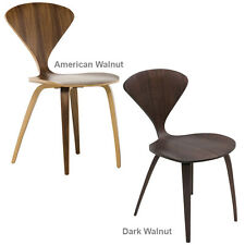 Molded Plywood Side Chair Satine Dining Chair Modern Mid Century Wooden Kitchen