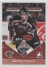 2007 In the Game Heroes and Prospects MC-05 Brendan Mikkelson Rookie Hockey Card