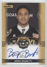 2010 Razor US Army All-American Bowl TA-BB1 Barry Brunetti U.S. Auto Rookie Card