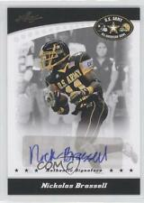 2011 Leaf US Army All-American Bowl #BA-NB1 Nickolas Brassell U.S. Auto Card