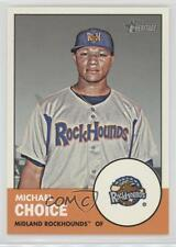 2012 Topps Heritage Minor League Edition #220 Michael Choice Midland RockHounds