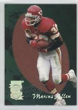 1995 Playoff Absolute Pigskin Previews #12 Marcus Allen Kansas City Chiefs Card