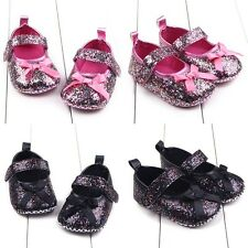 Newborn Baby Girl Cute Crib Shoes Toddler Soft Sole Casual Anti Slip Shoes 0-12M