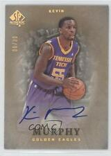 2012-13 SP Authentic Gold Autographs 39 Kevin Murphy Auto Rookie Basketball Card
