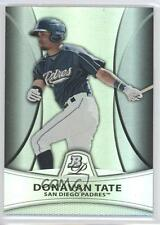 2010 Bowman Platinum Prospects Chrome Thick Stock Refractor #PP24 Donavan Tate