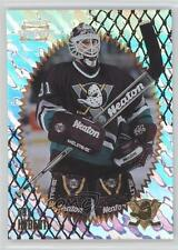 1996-97 Pinnacle Summit Ice 75 Guy Hebert Anaheim Ducks (Mighty of Anaheim) Card