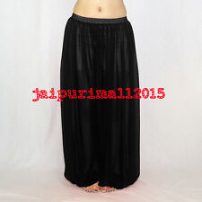 Black Chiffon Harem Yoga Pants Genie Boho Aladdin Belly Dance Harem S~3XL