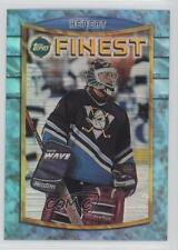 1994 Topps Finest Refractor 20 Guy Hebert Anaheim Ducks (Mighty of Anaheim) Card