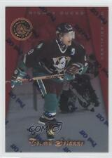 1997 Pinnacle Certified Red #39 Teemu Selanne Anaheim Ducks (Mighty of Anaheim)
