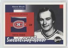 2001 Upper Deck Vintage Sweaters of Honor #SH-SS Steve Shutt Montreal Canadiens