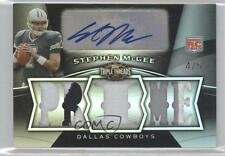 2009 Topps Triple Threads #133 Stephen McGee Dallas Cowboys Rookie Football Card