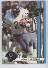 1990 Action Packed The All-Madden Team #45 Mark A Carrier Chicago Bears A. Card