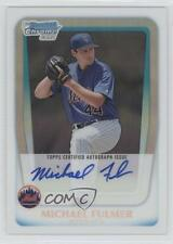 2011 Bowman Draft Picks & Prospects #BCAP-MF Michael Fulmer New York Mets Auto