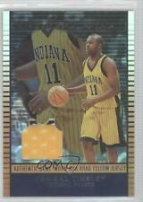 2002-03 Topps Jersey Edition Copper #jeJT Jamaal Tinsley Indiana Pacers Card