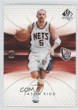 2004-05 SP Authentic #53 Jason Kidd New Jersey Nets Basketball Card