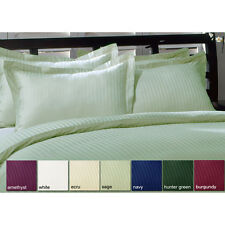 Wholesale 600TC Ultra Soft 2PC Pillow Shams Striped 100%Cotton All Sizes/Colors