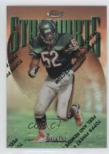 1997 Topps Finest Refractor #208 Bryan Cox Chicago Bears Football Card