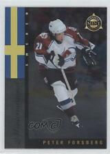 1997 Pinnacle Mint Collection Minternational 2 Peter Forsberg Colorado Avalanche