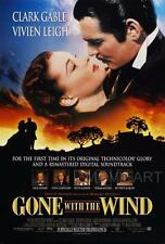 GONE WITH THE WIND VINTAGE MOVIE POSTER FILM A4 A3 ART PRINT CINEMA #2