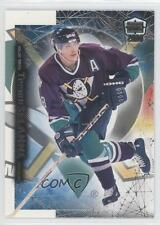 1999 Pacific Dynagon Ice 12 Teemu Selanne Anaheim Ducks (Mighty of Anaheim) Card
