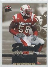 2006 Fleer Ultra Gold Medallion #232 Elvis Dumervil Louisville Cardinals Card