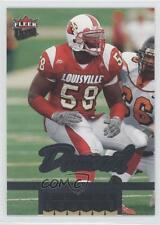 2006 Fleer Ultra 232 Elvis Dumervil Louisville Cardinals RC Rookie Football Card
