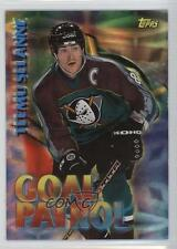 1998-99 Topps Season's Best SB13 Teemu Selanne Anaheim Ducks (Mighty of Anaheim)