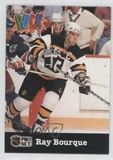 1991-92 Pro Set Puck #1 Ray Bourque Boston Bruins Hockey Card