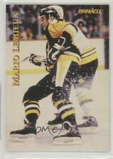 1997 Pinnacle Giant Eagle Mario's Moments #01 Mario Lemieux Pittsburgh Penguins