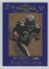 1999 Playoff Absolute SSD Purple Border #165 Ricky Williams New Orleans Saints