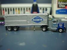 OVERNITE TRANS -WC-22 TRACTOR & 32' TRAILER - CLASSIC METAL WORKS -RARE -N SCALE
