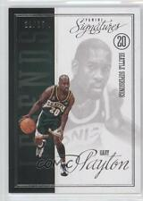 2012-13 Panini Signatures Legends #31 Gary Payton Seattle Supersonics Card