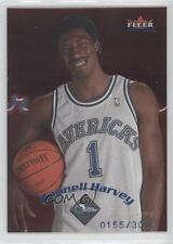 2000-01 Fleer Mystique #122 Donnell Harvey Dallas Mavericks RC Basketball Card