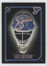 1995 Peninsula Vending NHL Goalie Mask Stickers #14 St Louis Blues St. Team Card
