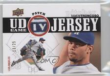 2010 Upper Deck UD Game Jersey Patch #UDGP-RT Ramon Troncoso Los Angeles Dodgers