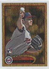2012 Topps Golden Moments Parallel #81 Liam Hendriks Minnesota Twins Rookie Card