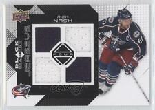2008-09 Upper Deck Black Diamond Quad Jerseys #BDJ-RN Rick Nash Hockey Card