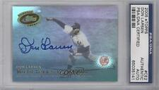 2005 eTopps Classic Events #CE2 Don Larsen AUTHENTICATED New York Yankees Card