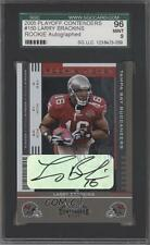 2005 Playoff Contenders #150 Rookie Ticket Larry Brackins SGC 96 Auto Card