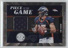 2011 Panini Totally Certified Piece of the Game 15 Tim Tebow Denver Broncos Card