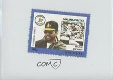 1988 Grenada Major League Baseball in Stamps US Series 1 #REJA Reggie Jackson