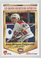 1992-93 #35 Jean-Jacques Daigneault Montreal Canadiens Rookie Hockey Card