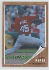 2011 Topps Heritage Minor League Edition Blue Tint #184 Martin Perez Rookie Card